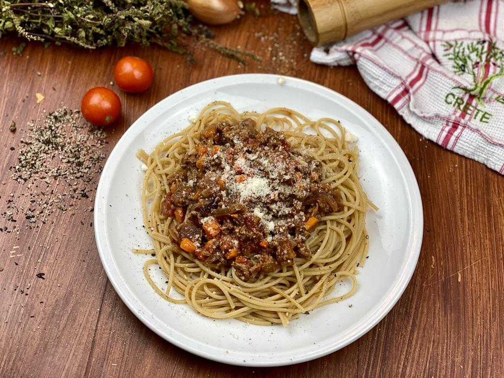 healthy Spaghetti bolo