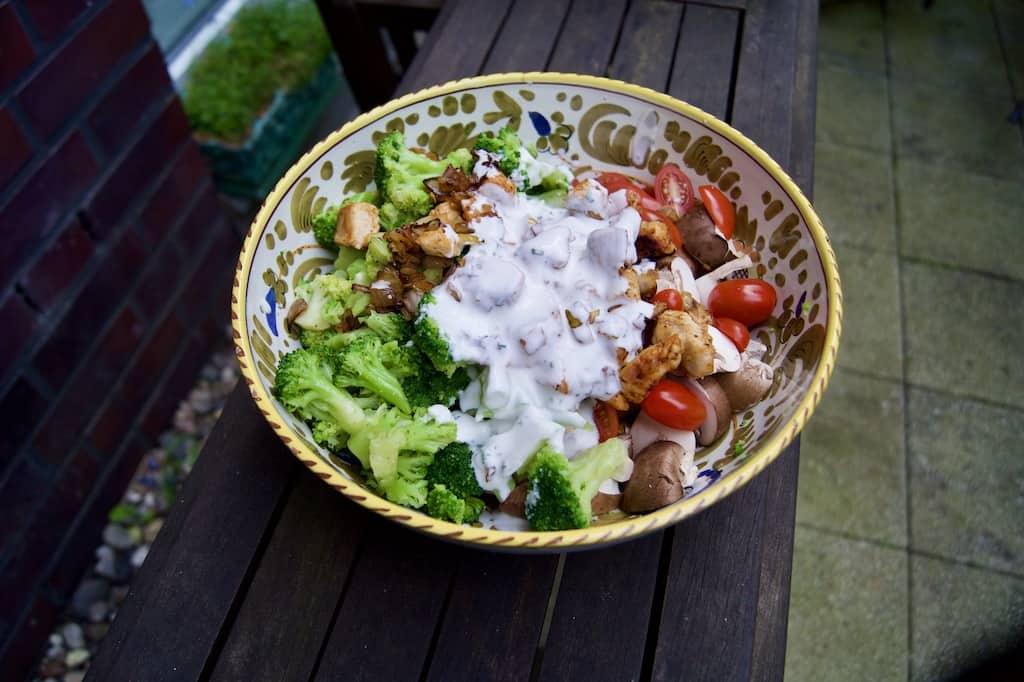 healthy chicken bowl recipe