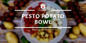 healthy vegetarian potato bowl