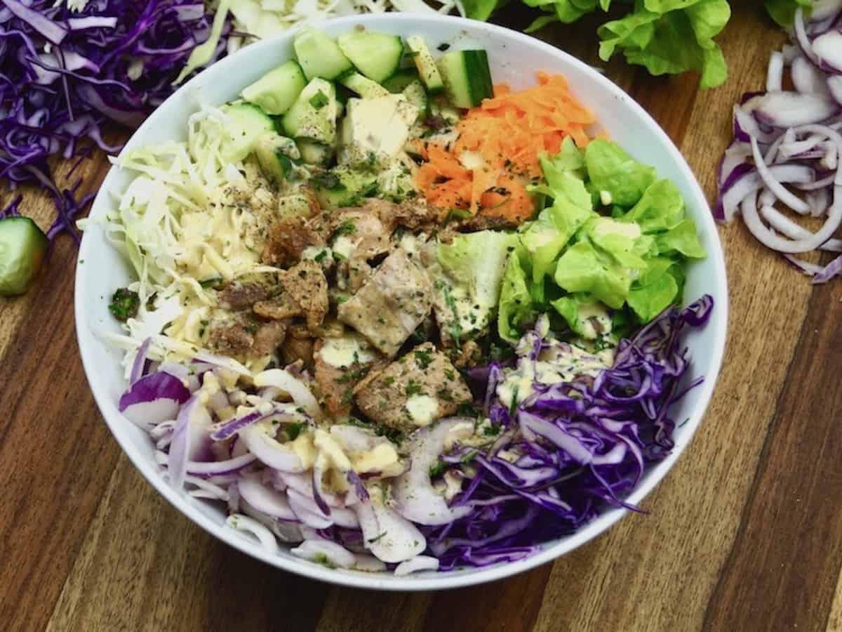 kebab bowl