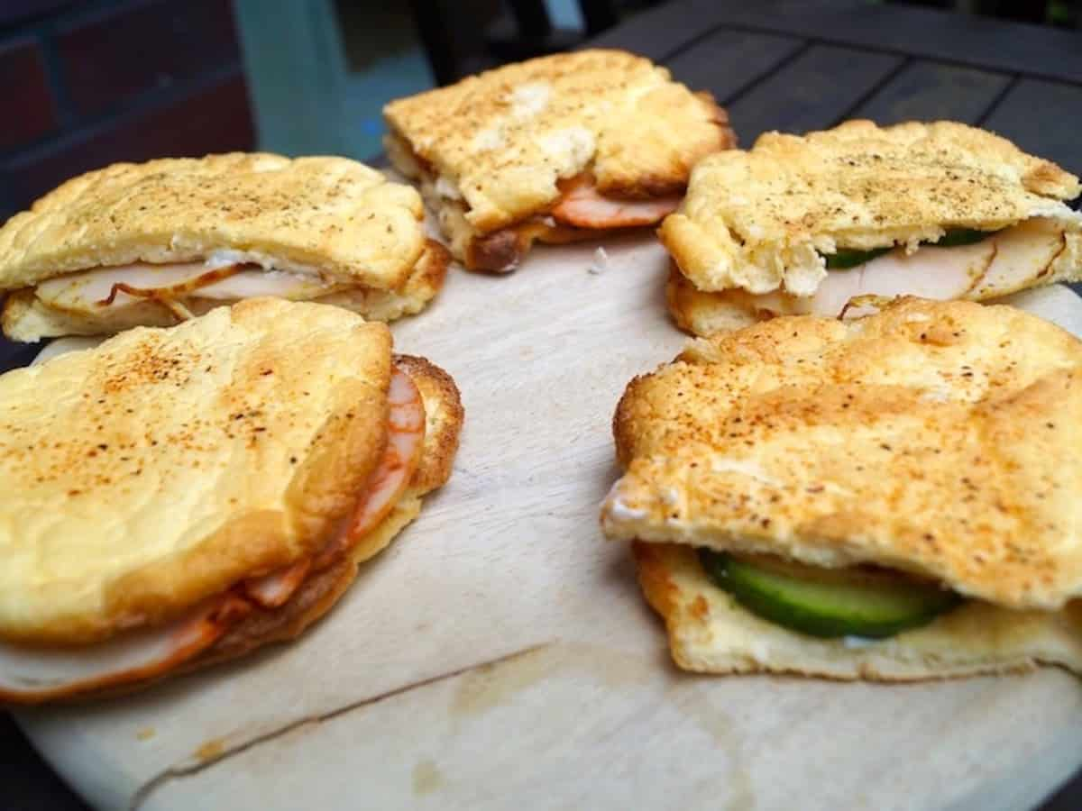 low carb Turkey sandwich