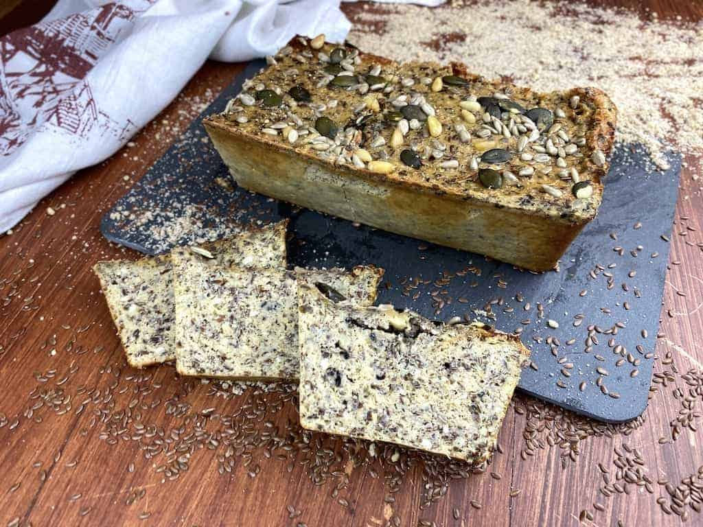 low carb protein bread